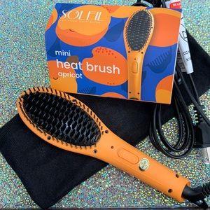 SOLEIL hair tools mini heat brush